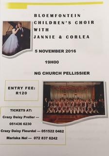 Bloemfontein Children's Choir with Jannie & Corlea image