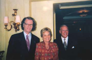 Andre Rieu, Huibrie Verster and Boet Troskie